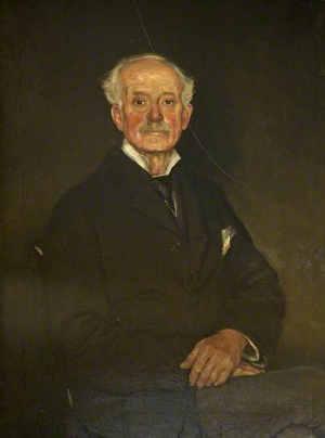 EAF Prynn's 1918 portrait of Maynard Colchester-Wemyss