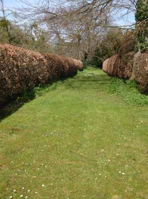 The Archery Lawn at Sutton Court, Herefordshire