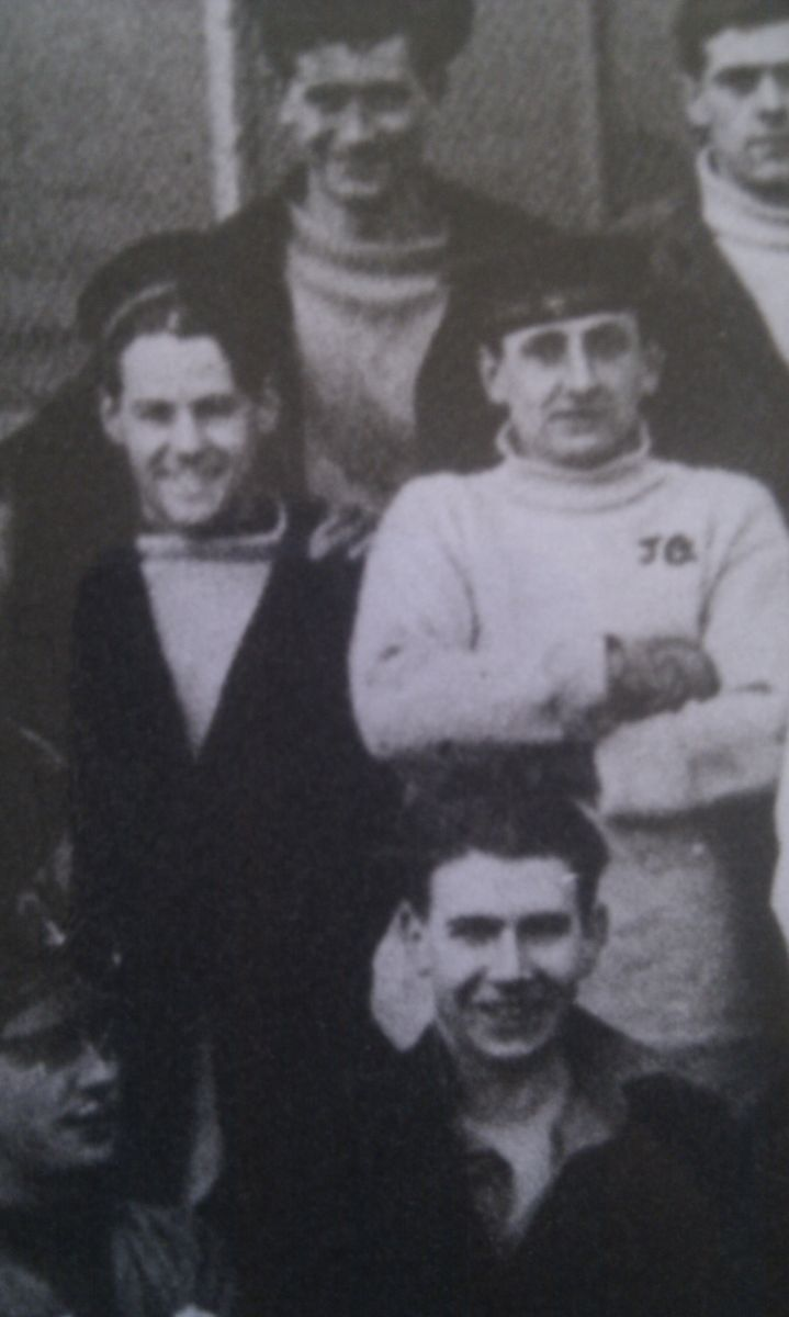 Dennis German (front left) John Gilliland (front right)