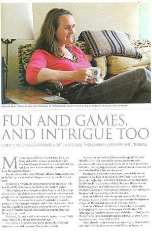 'Fun and Games' article July 2011 Shropshire Magazine